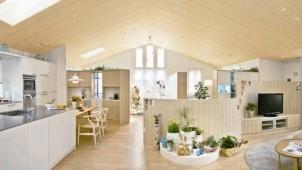三井ホーム、50畳超大空間が可能な注文住宅商品