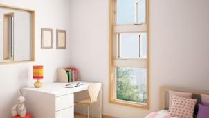 三協立山アルミ、効率良い自然換気ができる採風段窓を発売
