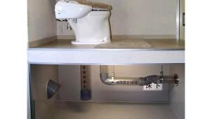 災害時にも使えるハイブリッドトイレ