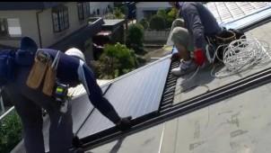 カナメ 屋根一体型太陽光発電パネルの全国販売を開始