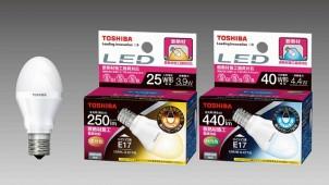 東芝ライテック、断熱材施工器具対応+広配光を実現したLED