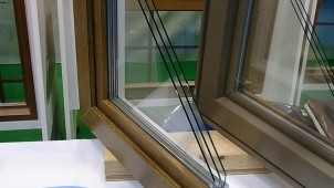 木の風合いを手軽に 樹脂窓に新カラー追加-ナータッグ