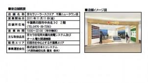 イオン×京セラの太陽光発電ショップ、千葉ニュータウンで開店