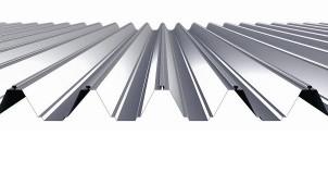 ヨドコウ 山高192ミリの高強度折板屋根を発売