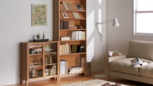 良品計画、スペースを有効活用できる木製収納発売