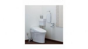 LIXIL、大掛かりな工事不要のコーナー手洗器付トイレ