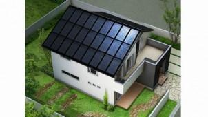 LIXIL・シャープ、屋根一体型太陽光発電システムを共同開発