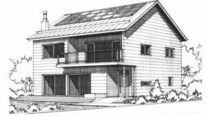 軽井沢パッシブハウスの現場構造見学会開催