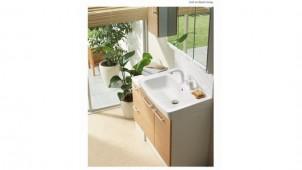 LIXIL、狭小空間向け洗面化粧台