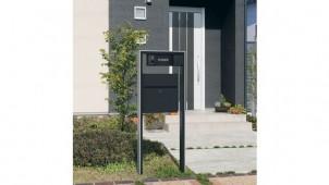 三協立山アルミ、大型郵便対応型機能ポール