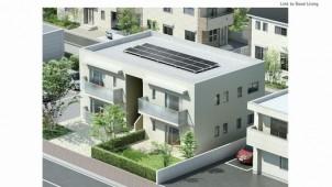 高さ制限ある住宅地向け太陽光発電システム