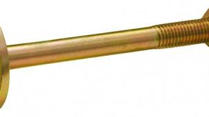 カネシン、座金と一体成型したボルトを発売