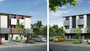 SxL、吹抜ある魅力的な暮らしを3階建て賃貸で