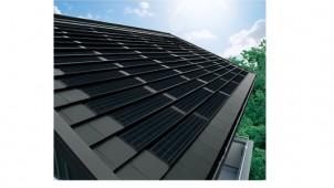 シャープ、平板瓦に馴染むシックな単結晶太陽電池