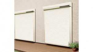 電気工事不要の電動窓シャッター 三和シヤッター工業