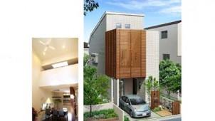 リバティホーム、2階建てモデルで狭小地のコスト低減策を提案