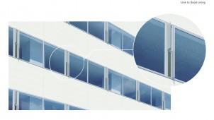 自然換気で無理なく省エネ、縦型換気ユニット窓発売 LIXIL