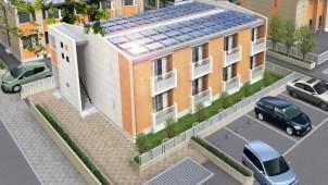 レオパレスなど3社で屋根借り太陽光発電プロジェクト
