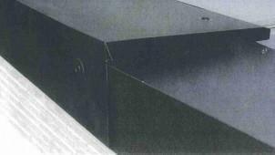 ハウゼサンエイ、金属屋根立葺き用の棟換気を発売