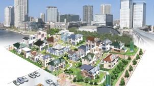 豊洲に新しい住宅展示場のカタチ「豊洲まちなみ公園」オープン