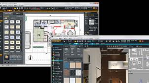 メガソフト、新製品のデモンストレーション 建築建材展で