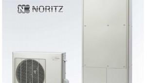 給湯一次エネルギー効率125%を実現した戸建て用ハイブリッド給湯 ノーリツ