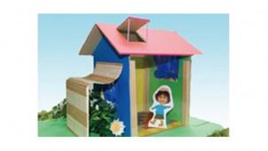 YKKAPが親子向けワークショップ、ミニチュアハウスで「小エネ」学ぶ