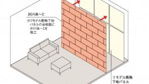 大建工業、リフォーム用の断熱下地パネルを発売