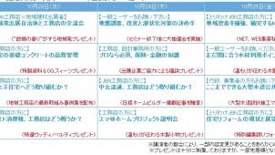 ジャパンホームショーでJBNが無料セミナー 消費税対応からリフォーム、大型木造まで