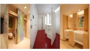アイカ、女性視点で開発した非住宅向けトイレ空間シリーズ