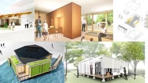東京・東雲に「2030年の家」が5棟出現