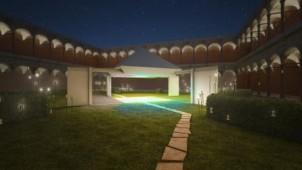 パナソニックがミラノサローネ2014に出展、引戸とLEDで空間表現