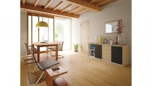 大建工業、「ハピアシリーズ」にドアとコーディネートしやすい床材・階段をラインアップ