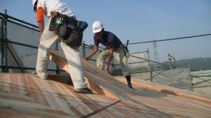 合板・接着剤ゼロで強い家 無垢スギの耐力面材構法視察セミナー