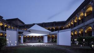 ミラノサローネ2014、パナソニックが引戸+LEDでインスタレーション展示