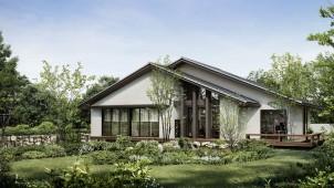 大和ハウス、50代建て替え層をターゲットにした平屋木軸住宅