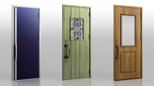 LIXIL、断熱玄関ドア「ジエスタ」に遊び心ある新デザイン