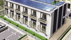 レオパレス21、アパート向け太陽光発電が3年で1万棟突破