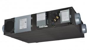 加湿量1.2倍、業務用ロスナイの外気処理ユニット 三菱電機