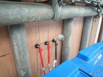 コンクリート中の電気抵抗値測定