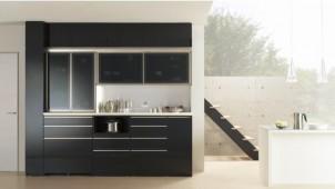 収納家具メーカーのパモウナ、食器棚の最高級モデルを発売