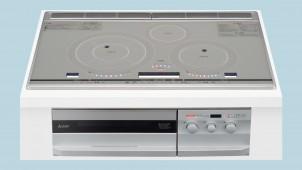 三菱電機、循環する熱風でノンフライ調理ができるオーブン搭載