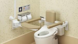 TOTO、トイレ介助の負担を減らす新アイテム
