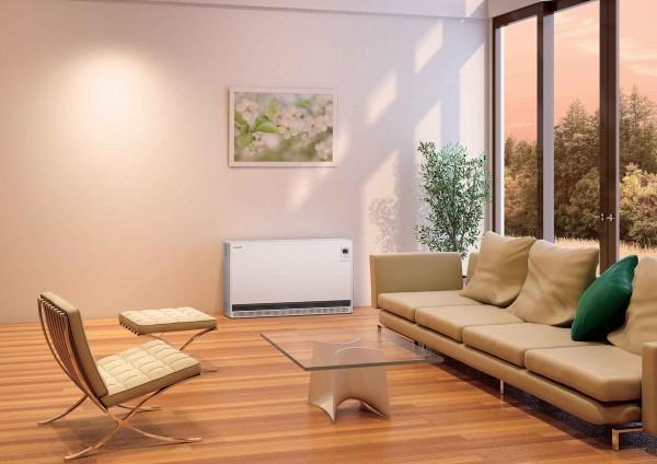 蓄熱暖房器設置イメージ
