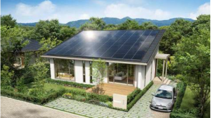 トヨタホーム、大規模太陽光発電が搭載可能な平屋商品を販売開始