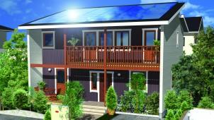 スウェーデンハウス、大容量太陽光発電搭載可能な「SOL HUS 10」発売