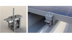 カナメ、太陽電池設置金具にエコノミー追求した新タイプ
