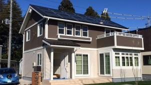栃木セキスイハイム、電気自動車と連携した木質系モデルハウスをオープンへ