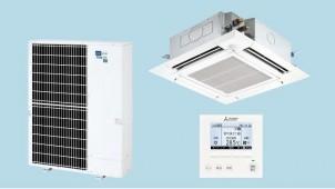 三菱電機、定格能力発揮可能な外気温度範囲を拡大したエアコン