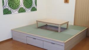 高垣商店、コタツ+収納付きの畳ユニットを発売